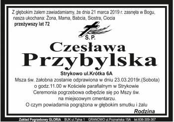 Czeslawa Przybylska