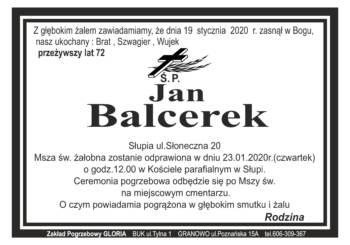 Jan Balcerek